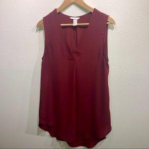 H&M Sleeveless Blouse with V neckline